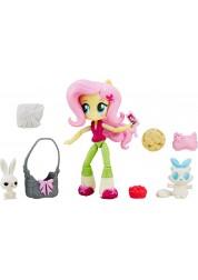 Игровой набор с мини-куклой Флаттершай из серии My Little Pony Equestria Girls, 12 см., шарнирная Hasbro B4909