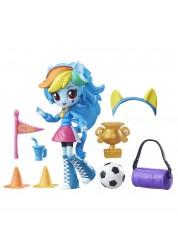 Игровой набор с мини-куклой Рейнбоу Дэш из серии My Little Pony Equestria Girls, 12 см., шарнирная Hasbro B4909