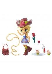 Игровой набор с мини-куклой Эпплджек из серии My Little Pony Equestria Girls, 12 см., шарнирная Hasbro B4909