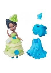 Маленькая кукла Princess Disney Принцесса Тиана с модными аксессуарами Hasbro B5327