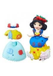 Маленькая кукла Princess Disney Принцесса Белоснежка с модными аксессуарами Hasbro B5327