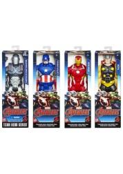Фигурка Titan Hero Первый мститель, 30 см Avengers Hasbro B6660