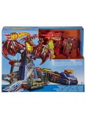 Трековый набор  Битва с драконом Hot Wheels Mattel DWL04