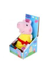 PEPPA PIG. Мягкая игрушка Пеппа,30 см, речь, свет, звук