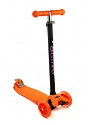 Cамокат детский Triumf Active Maxi Flash SKL-07L  со светящимися колесами, orange