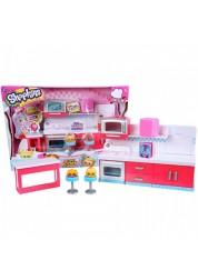 Детский игровой набор Шопкинс Шеф Клуб Веселая кухня Shopkins Moose 56152