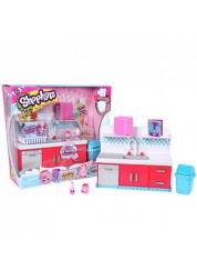 Игровой набор Кулинарный клуб Шопкинс Посудомоечная машина Shopkins Moose 56150/ast56149