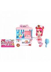 Игровой набор Шопкинс Shoppies - Пончиковая лавка Донатины с куклой и аксессуарами Shopkins Moose 56186