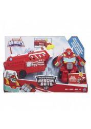 Робот-трансформер красный Playskool Heroes - Машинки-спасатели Hasbro B4951EU4