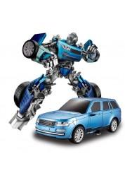 Радиоуправляемый робот-трансформер JQ Troopers Tyrant (синий) TT651A