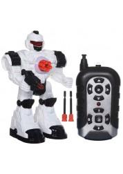 Робот на радиоуправлении со светом и звуком ABtoys C-00143(TT713B)