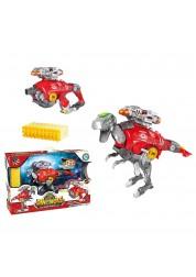 Трансформер Dinobots Рекс 2 в 1 робот-бластер, красный SB379