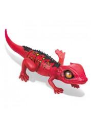 Игрушка интерактивная Робо ящерица RoboAlive (Красная) Zuru Т10994