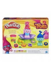 Игровой набор пластилина Тролли Play-Doh Hasbro B9027