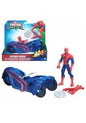 Фигурка Марвел 15 см на транспортном средстве Spider-Man Hasbro B5760/B6392