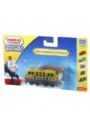 Томас и Друзья Базовый паровозик с прицепом Дизель Fisher Price BHX25