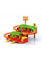 Игровой набор Хот Вилс Парковка с вертолетной площадкой Нордпласт Н-431229
