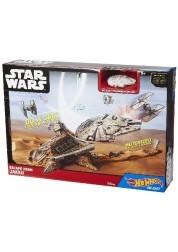Набор Hot Wheels Звездные войны: эпизод 7 Побег с Джакку со звуком Mattel CGN32