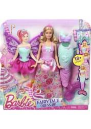 Игровой набор Сказочное превращение Barbie Mattel DHC39