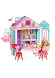 Барби Домик Челси Barbie Mattel DWJ50
