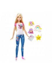 Барби Кукла-геймер из серии Barbie и виртуальный мир Mattel DTV96