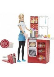Игровой набор Барби Шеф итальянской кухни Barbie Mattel DMC36