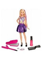 Игровой набор Цветные локоны Barbie Mattel DWK49