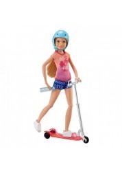 Кукла Barbie Стейси на самокате Mattel DVX57