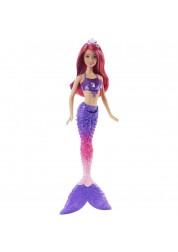 Кукла Радужная русалочка, фиолетовый хвост Dreamtopia Barbie Mattel DHM45