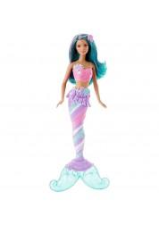 Кукла Радужная русалочка, голубой хвост Dreamtopia Barbie Mattel DHM45