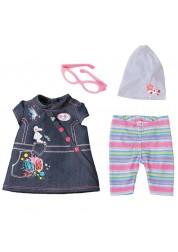 Одежда Джинсовая для кукол из серии Baby born, Девочка Zapf Creation 822-210