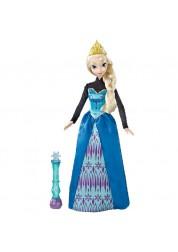Кукла Эльза Холодное сердце в платье, меняющем цвет Disney Princess Mattel BDK31