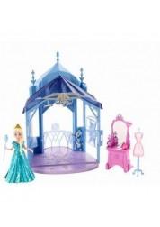 Набор Холодное Сердце замок с куклой Эльзой Disney Princess Mattel CCX95