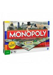Monopoly Настольная игра Монополия Россия новая уникальная версия Hasbro B7512