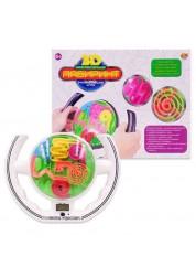 Интеллектуальный 3Д лабиринт головоломка с таймером (звук) Abtoys PT-00734