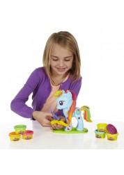 Play-Doh Игровой набор Стильный салон Рэйнбоу Дэш Hasbro B0011