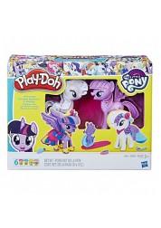 Игровой набор Play-Doh Твайлайт и Рарити Hasbro B9717