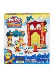 Play-Doh Игровой набор «Пожарная станция» из серии Город, Hasbro, B3415