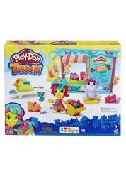 Play-Doh Игровой набор «Магазинчик домашних питомцев» из серии Город, Hasbro, B3418