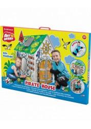 Домик игровой для раскрашивания - Дом Пирата/Pirate house, ErichKrause, 39231