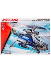 Конструктор Меккано Набор Боевой вертолёт (2 модели) Meccano 91733