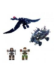 Конструктор Dragons Ionix 67104 Дрэгонс Ионикс Боевой набор с Беззубиком