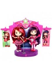 Игровой набор Strawberry Shortcake 12245 Шарлотта Земляничка Две куклы 15 см на сцене