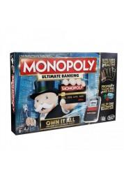 Игра монополия с банковскими картами (обновленная) Hasbro B6677
