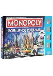 """Настольная игра Монополия Всемирное издание """"Здесь и сейчас"""" Hasbro Games B2348"""