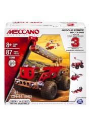 Меккано Техника службы спасения (3 модели) Meccano 91784