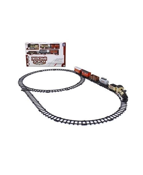 1toy GoldLock Железная дорога Восточный Экспресс 420см 1890г Т54433