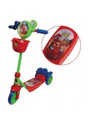 Самокат детский 1toy Angry Birds Go 3-х колесный Т57581