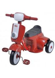 Велосипед - мотороллер детский 1toy 3-х колесный 9 дюймовый Т57611