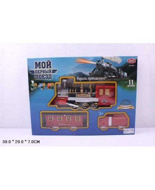 Play Smart Железная дорога Мой первый поезд 268см полотно Р41378